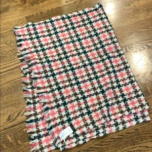 "J.Crew wool scarf, 24""x72"""